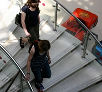 mall floor survey- stairs