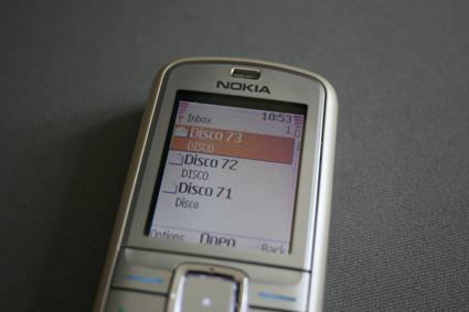 mobile disco inbox